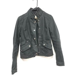 Free People off black jacket size 4 small